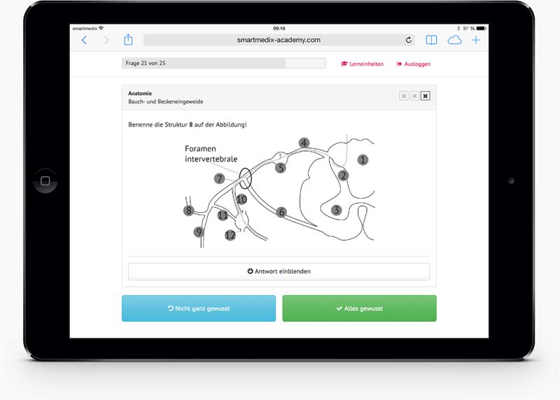 smartmedix academy Lernsystem